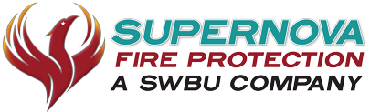 SuperNova Fire Protection Company Logo
